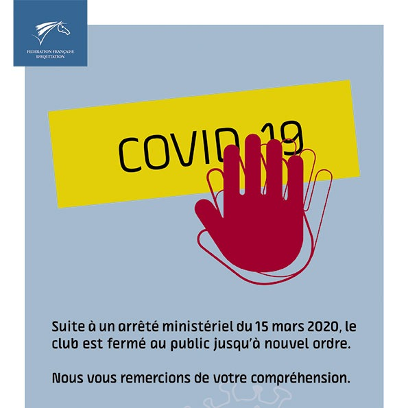 Affiche FFE crise sanitaire coronavirus